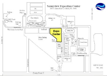 Sunnyview Expo Center Grounds Map